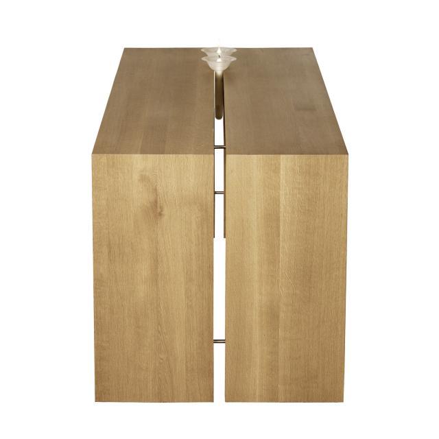 Oak table - Table modulable conforama ...