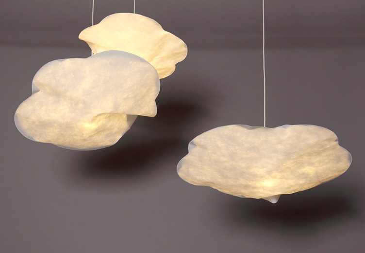 hanging lamp cloud. Black Bedroom Furniture Sets. Home Design Ideas