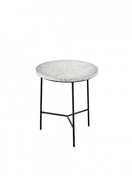 terrazzo side table. Black Bedroom Furniture Sets. Home Design Ideas