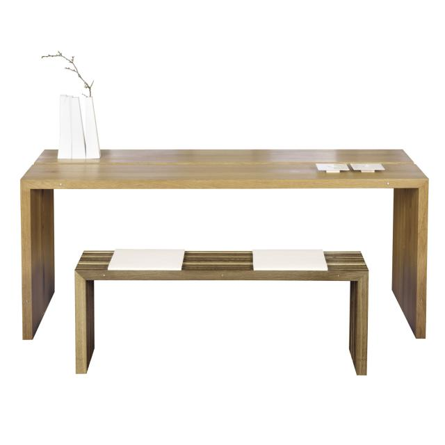Eiken tafel for Eiken design tafel