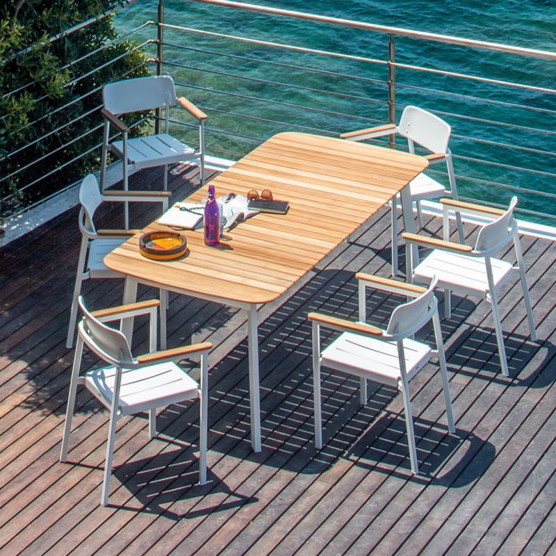 Table de jardin shine - Table jardin emu rennes ...