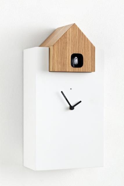 horloge coucou ettore diamantini. Black Bedroom Furniture Sets. Home Design Ideas