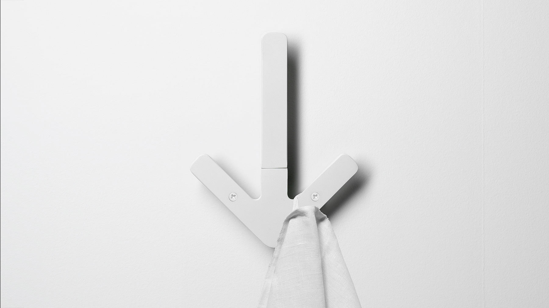 Arrow hanger for Porte manteau design