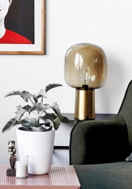 note table lamp. Black Bedroom Furniture Sets. Home Design Ideas