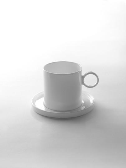 set de 2 tasses caf design geometry. Black Bedroom Furniture Sets. Home Design Ideas