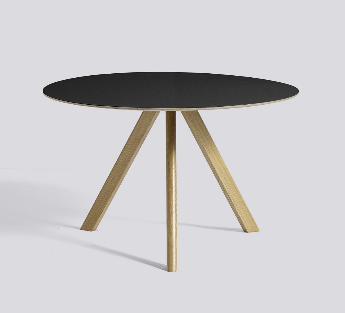 copenhagen round table cph20 120 cm. Black Bedroom Furniture Sets. Home Design Ideas
