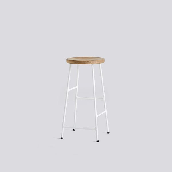 cornet-bar-stool-h65-cream-white-powder-coated-steel-base_solid-oiled-oak-seat-Hay