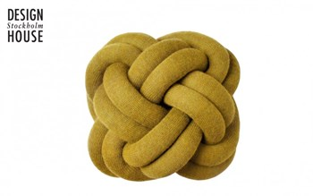 coussin-knot-jaune-design-house-stockholm