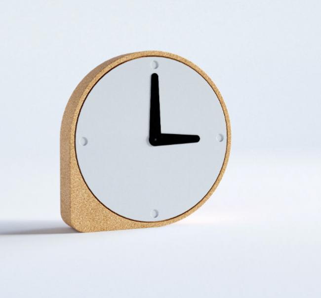 horloge poser clork